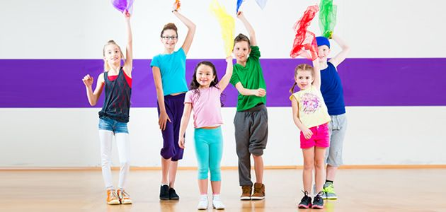 Danza infantil en San Fernando de Henares